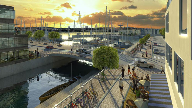 Finlandia proyecta la ciudad del futuro: un paraíso casi sin coches (FOTOS)
