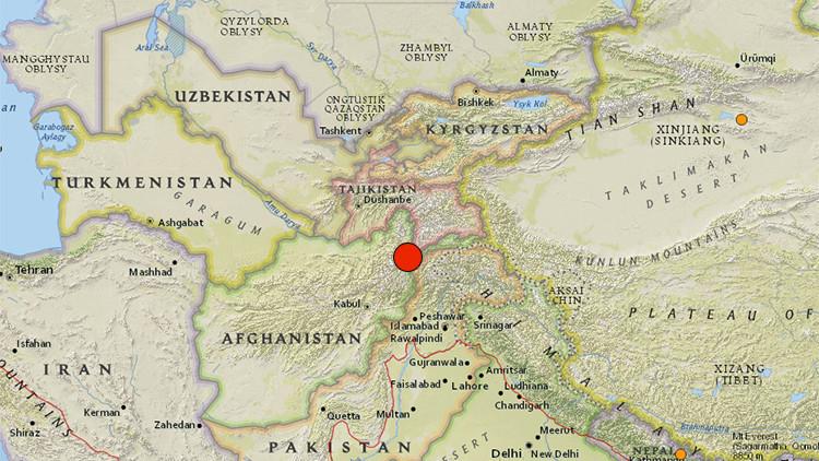 Un fuerte terremoto sacude Afganistán produciendo temblores en el sur de Asia