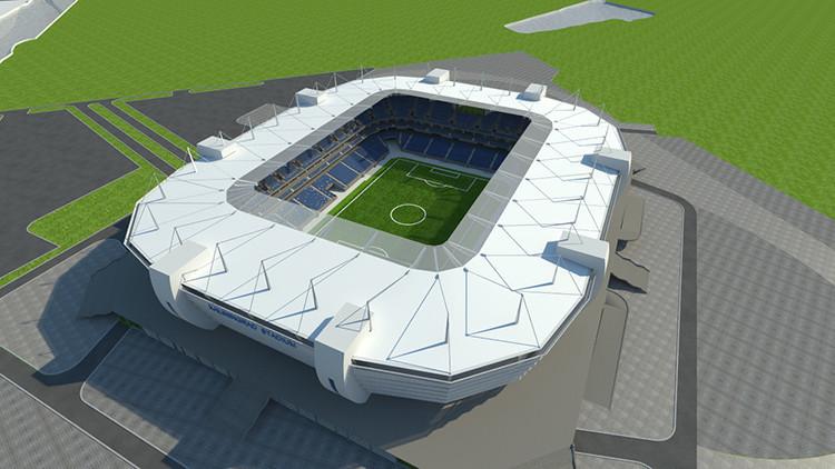Kaliningrado inicia la construcción de su estadio para acoger la Copa Mundial de Fútbol 2018