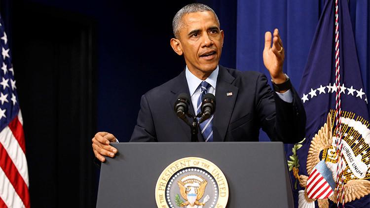 """Obama admite que en EE.UU. existe """"una serie de problemas políticos sistémicos"""""""