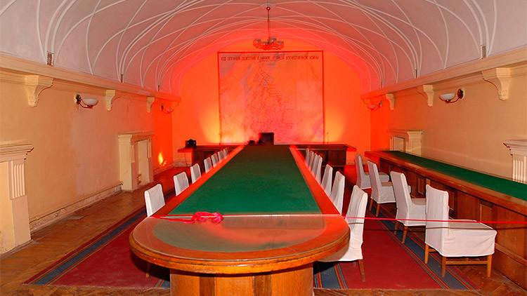 Fotos: Viaje al interior del búnker secreto de Stalin