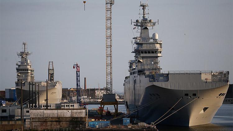 Rusia suplirá los buques Mistral con su propio portaaviones nuclear