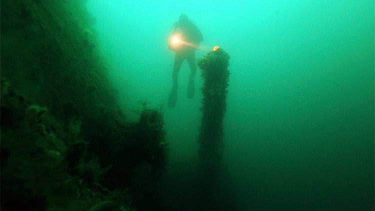 Hallan un naufragio con carga de un millón de euros en el mar Báltico