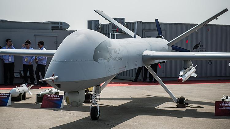 Confirmado: Los primeros drones chinos de guerra participan en combates