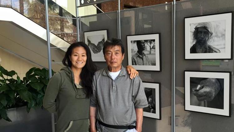 Insólito: Fotografiaba a indigentes y reconoció a su padre entre ellos