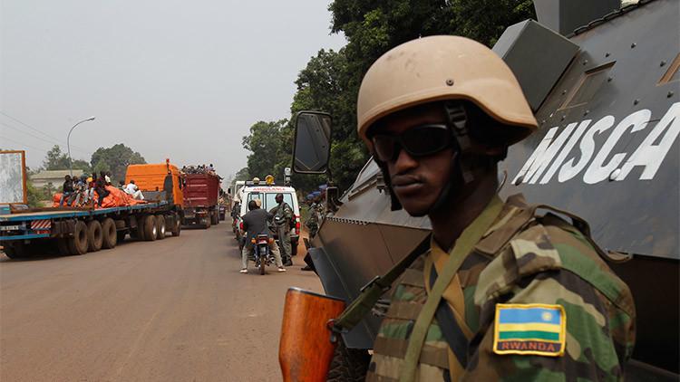 Acusan a varios cascos azules de violar a una menor en República Centroafricana