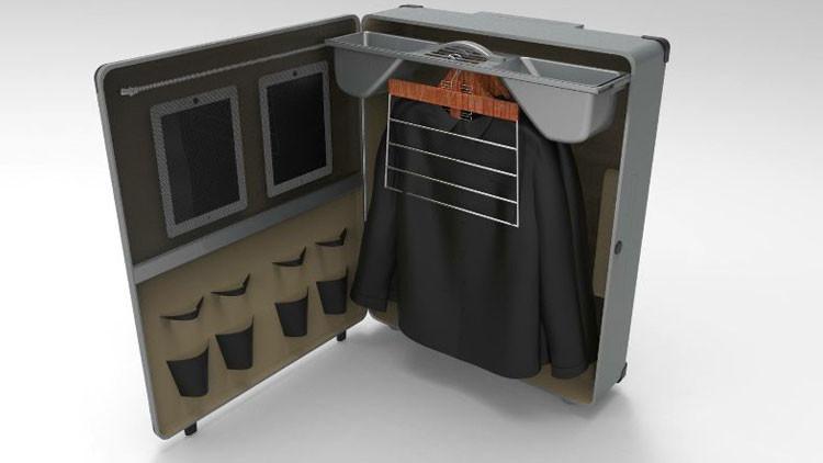 Un argentino inventa una innovadora maleta que lo hará millonario