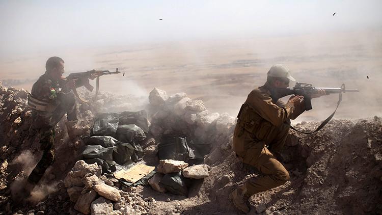 'Bild': Las fuerzas kurdas son atacadas con armas químicas en Irak