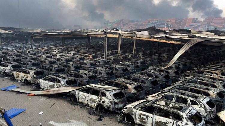 Detectan gases tóxicos en un radio de 500 metros en la zona de las explosiones en China