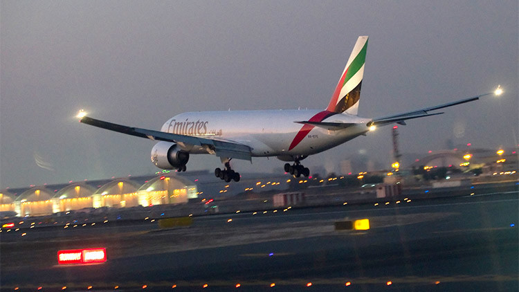 La aerolínea Emirates lanza la ruta Dubái-Panamá, el vuelo más largo del mundo