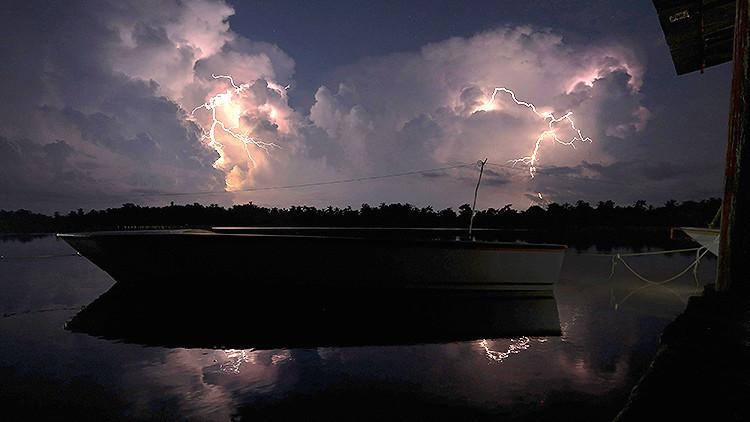 El lugar con más alta concentración de rayos en el mundo: Catatumbo