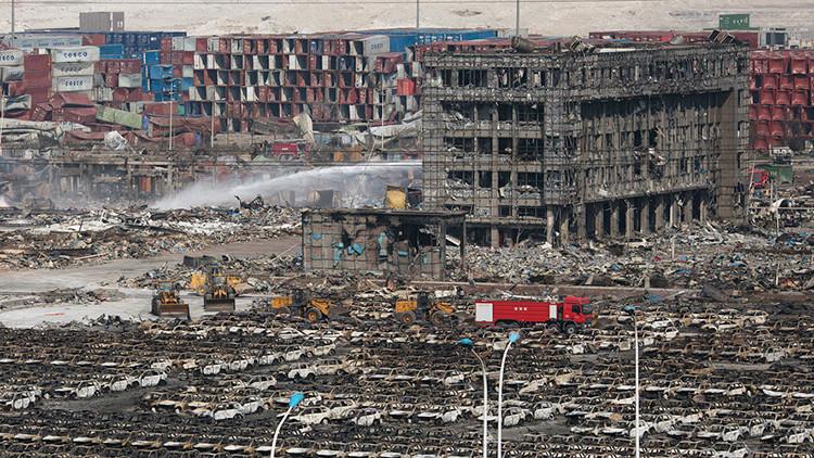 """China: """"Hay riesgo de que haya otra explosión si no se determina la causa inicial"""""""