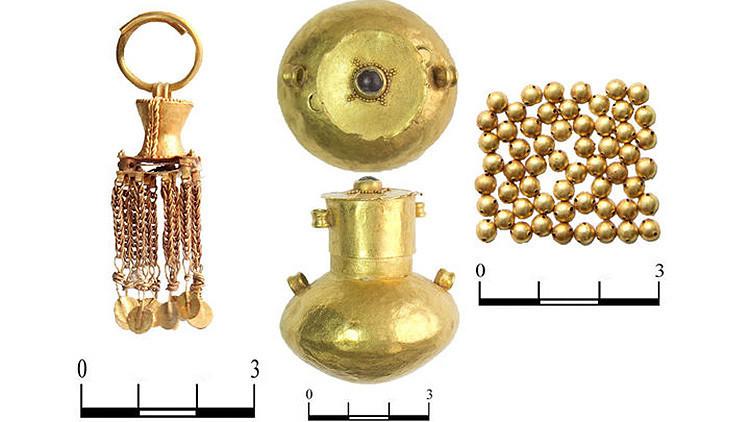 Descubren al sur de Rusia los restos de una mujer guerrera enterrada con su tesoro