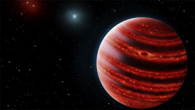 Científicos descubren un 'Júpiter joven'