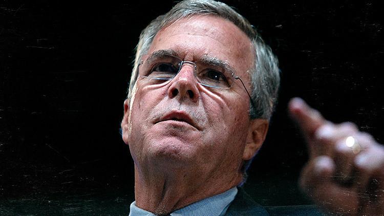 """""""Jeb Bush debería explicar su relación con los narcocárteles y el blanqueo de dinero"""""""