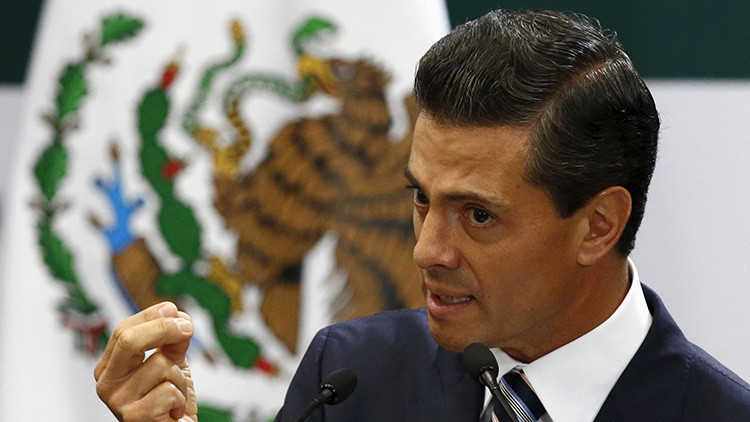 """México: Peña Nieto asegura que la subida del dólar ha sido """"positivo"""" para el país"""