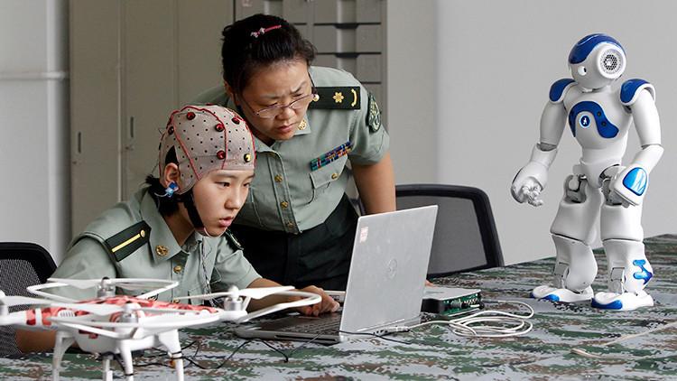 China desarrolla una tecnología para controlar robots con la mente