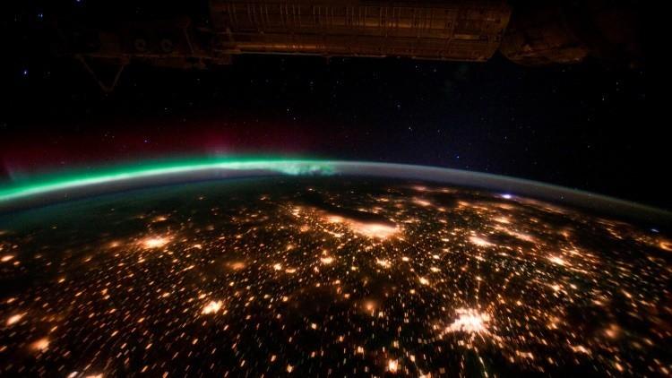 Astronauta muestra en Twitter cómo se ve la aurora boreal desde el espacio (video)