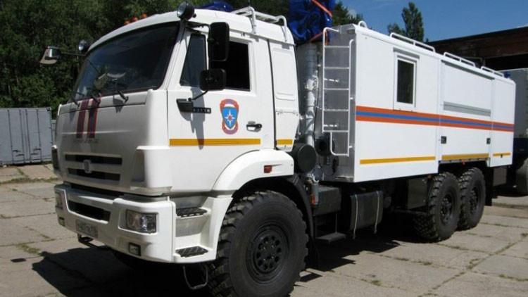 Constructores rusos elaboran búnkeres transportables que protegen de una explosión nuclear