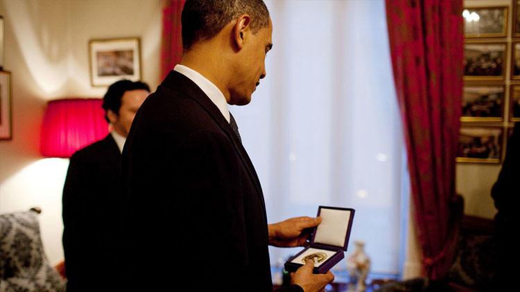 """Global Research: """"El Comité Nobel debería abolir su 'Premio de la Paz' tras habérselo dado a Obama"""""""
