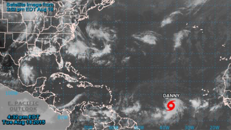 La tormenta tropical Danny amenaza el Caribe y podría transformarse en un huracán