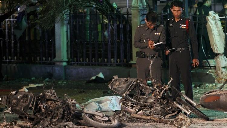 Policía: El atentado de Bangkok fue planeado por más de 10 personas