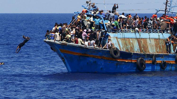 EE.UU. ha organizado una invasión a Europa al pagar a los traficantes de inmigrantes