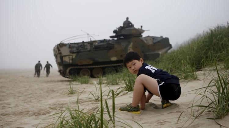 Evacúan a civiles en Corea del Sur más allá de la frontera norte