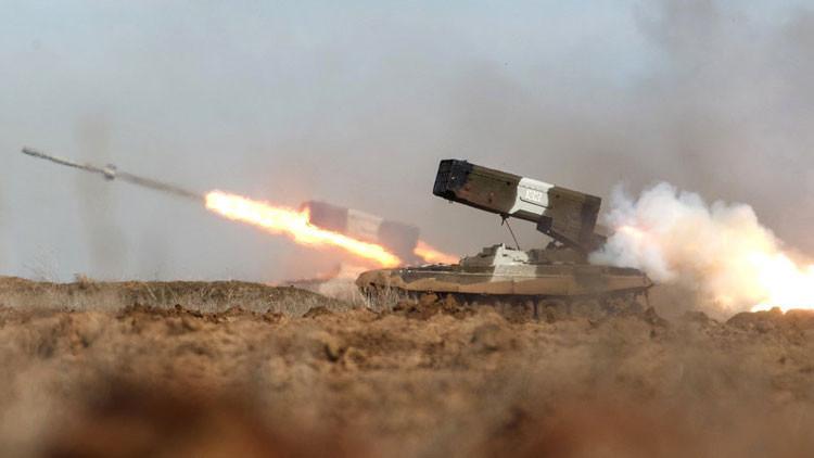 Rusia está desarrollando un novedoso sistema lanzallamas pesado