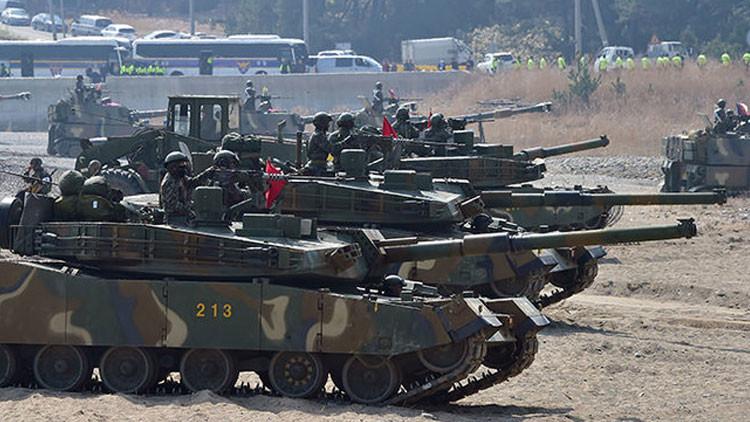 EE.UU. y Corea del Sur reanudan los ejercicios militares tras la suspensión temporal