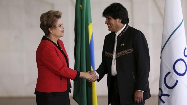 "Morales: ""No vamos a permitir golpes de Estado en Brasil ni en América Latina"""