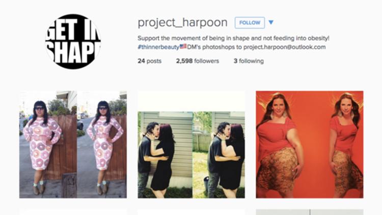 Un controvertido proyecto que 'photoshopea' a mujeres de tallas grandes genera indignación