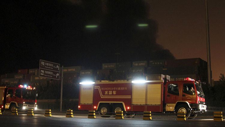 Se produce una explosión en una planta química en China