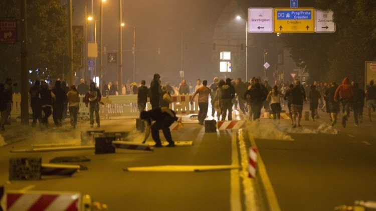 Una protesta contra la inmigración deja decenas de heridos en Alemania