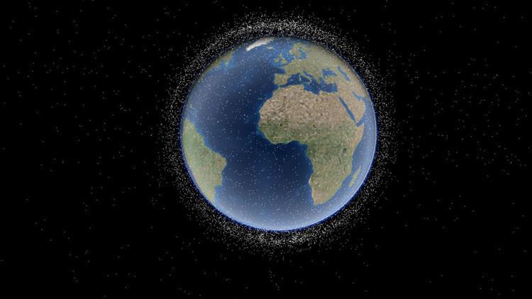 Así es el insólito programa 3D que monitorea satélites de la Tierra (Video)