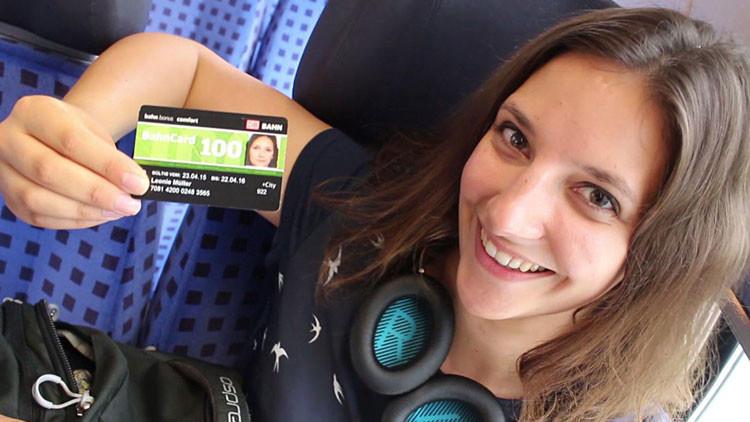 Una estudiante alemana vive en trenes para ahorrarse el arriendo
