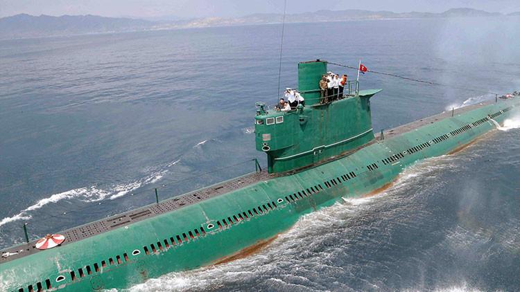 Yonhap: Corea del Norte desatraca el 75% de sus submarinos y duplica la artillería