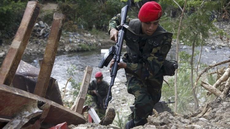 ¿Qué halló Venezuela en su frontera con Colombia?