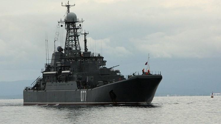 Comienza la fase activa de los ejercicios navales ruso-chinos en las costas de Primorie