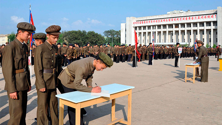 Un millón de norcoreanos, listos para la