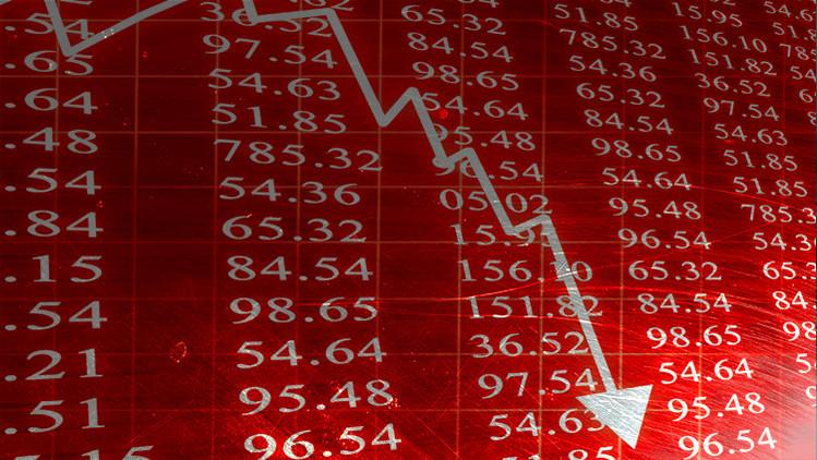 Desplome financiero mundial