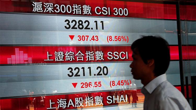 Se pierden más de 5 billones de dólares en acciones en pleno 'lunes negro'