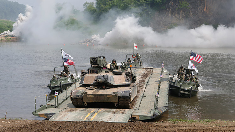 Comandantes de EE.UU. revisan un plan de guerra para proteger a Corea del Sur