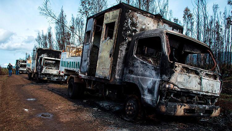 Chile: Camioneros viajarán en caravana hacia la sede presidencial como protesta
