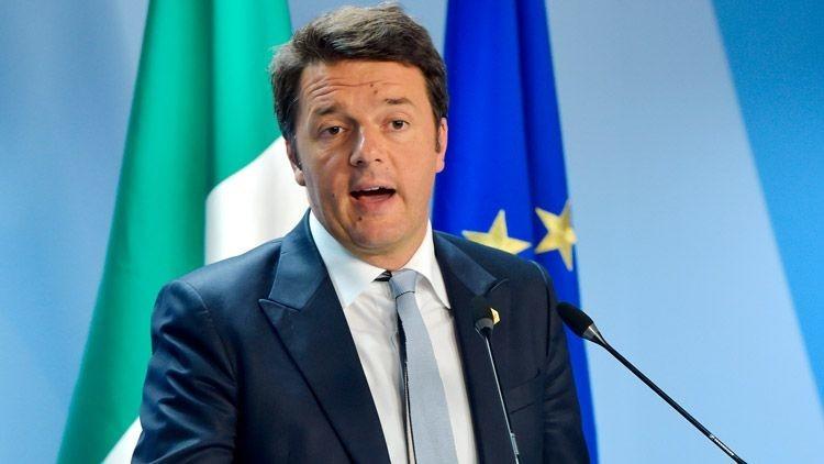 """Matteo Renzi: """"Una Europa contra Rusia es un error trágico"""""""