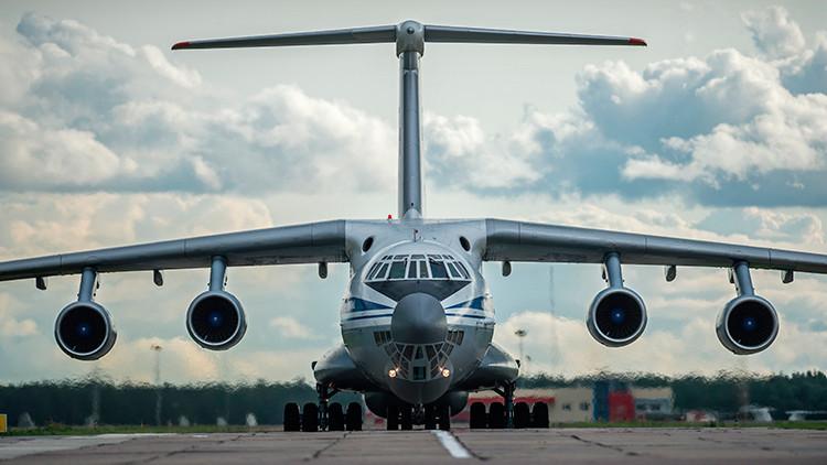 Un nuevo avión militar ruso será capaz de transportar hasta 100 toneladas de carga