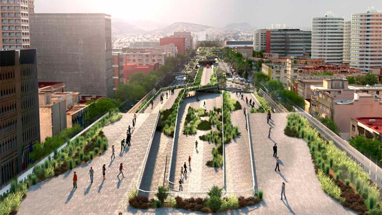 La Ciudad de México convertirá una de sus avenidas principales en un parque moderno