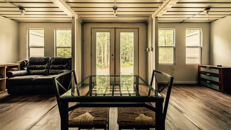 ¿Cómo salvarse de impuestos? Construye tu casa autosostenible con 3 contenedores