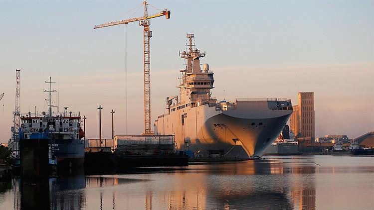 Confirmado: Francia compensará a Rusia con casi 1.000 millones de euros por los Mistral