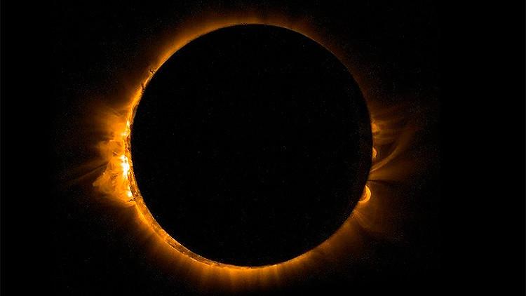Solo un país disfrutará del eclipse solar total de 2017
